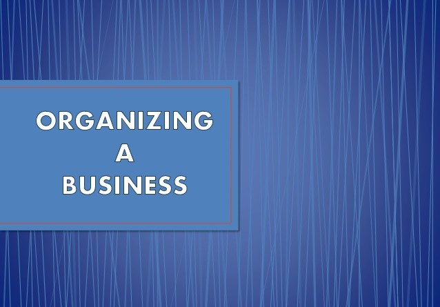 Organising Business Finance