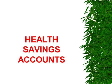 Business Health Savings Accounts - Why Is It Important